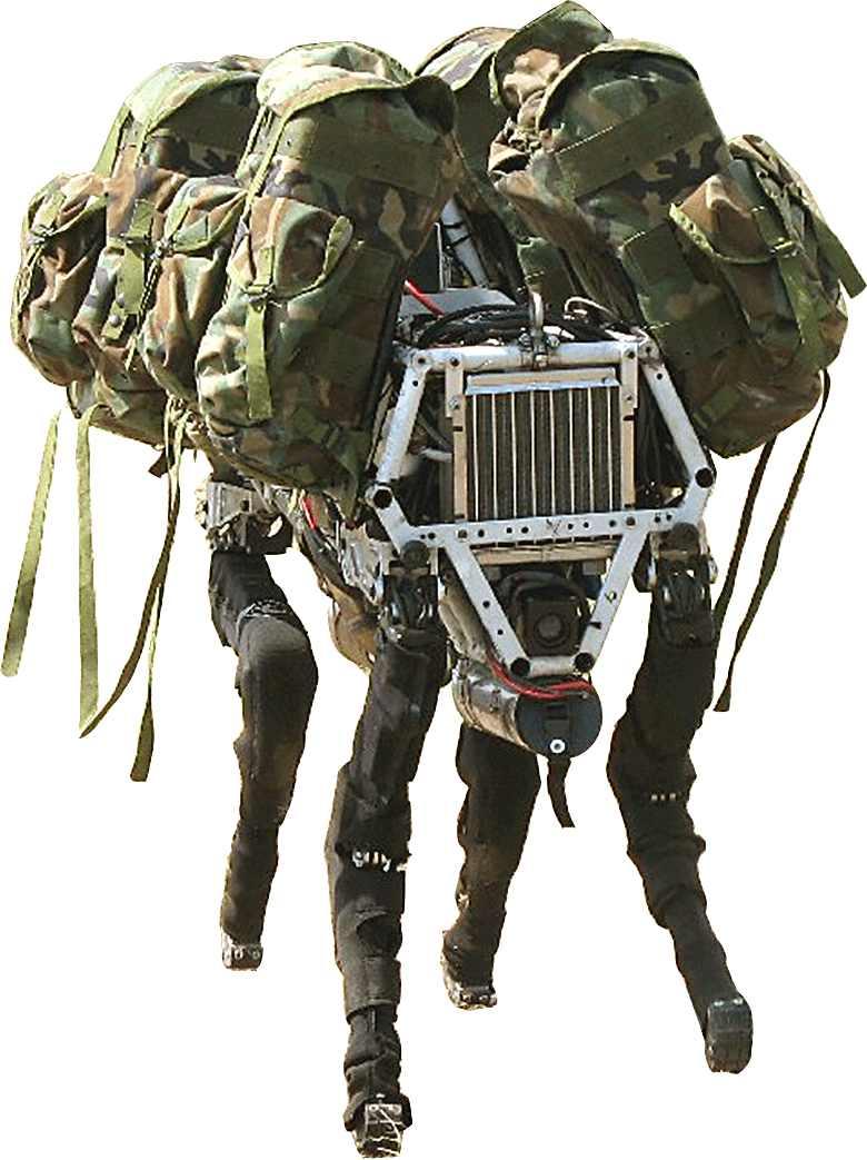 Big Dog Video Boston Dynamics
